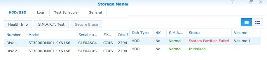 how to tell if hdd is failing